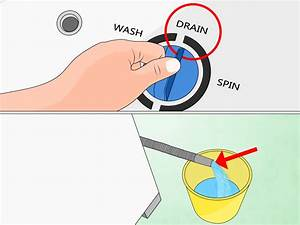 How To Fix A Washer That Won U0026 39 T Drain  7 Steps  With Pictures