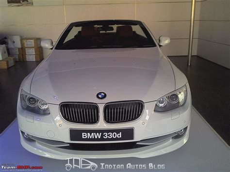 Bmw India To Launch 330d Convertible!