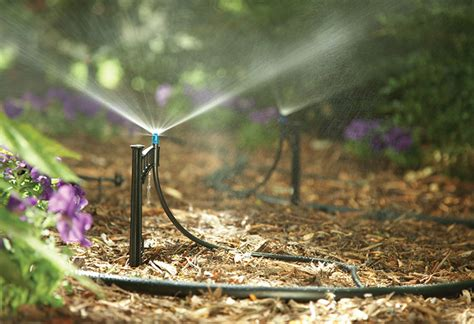 irrigation system sprinkler drip valves diy systems garden watering overhead types water risers install lawn plants depot control heads lines