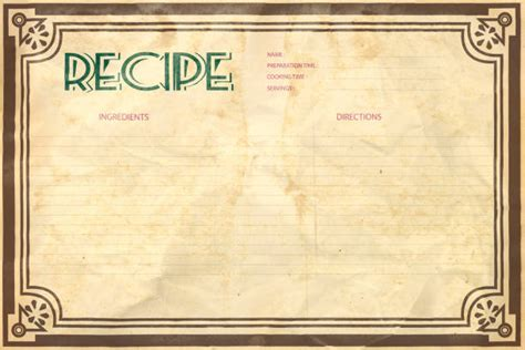 recipe cards stock  pictures royalty