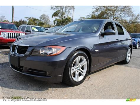 2008 Bmw 3 Series 328i Sedan In Sparkling Graphite