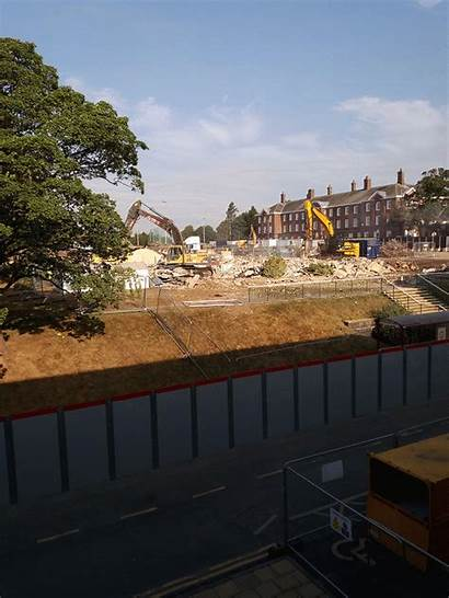 Leeds Beckett Campus Headingley University Building Demolition