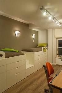 Kleine Kinderzimmer Gestalten : 12 raumsparideen f r kleine kinderzimmer und jugendzimmer kinderzimmer pinterest kleines ~ Sanjose-hotels-ca.com Haus und Dekorationen