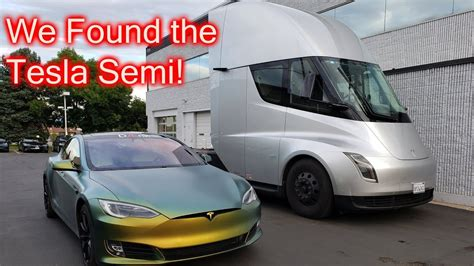 We Found The Tesla Semi Truck!