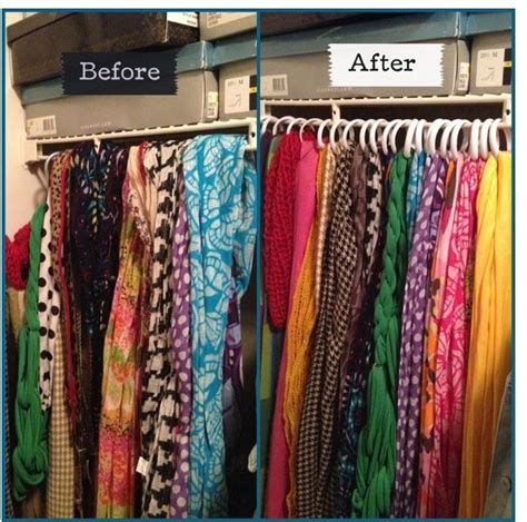 How To Organize Scarves In Your Closet by Dollar Tree Diy To Organize Your Scarves If You Do Not