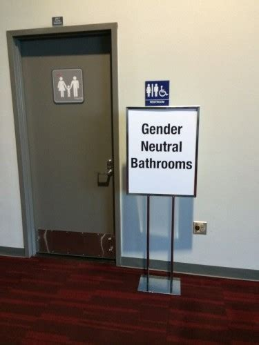 Gender Neutral Bathrooms by Gender Neutral Bathrooms At Ala Conferences Glbt News