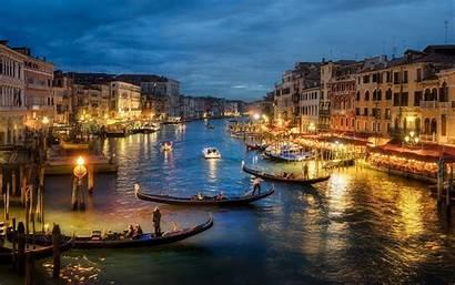 Venice Italy Landscape Canal Building Architecture Urban