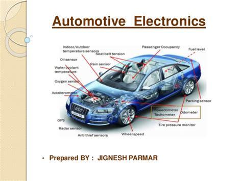 Automotive Electronics Automobile Electronic Control Unit
