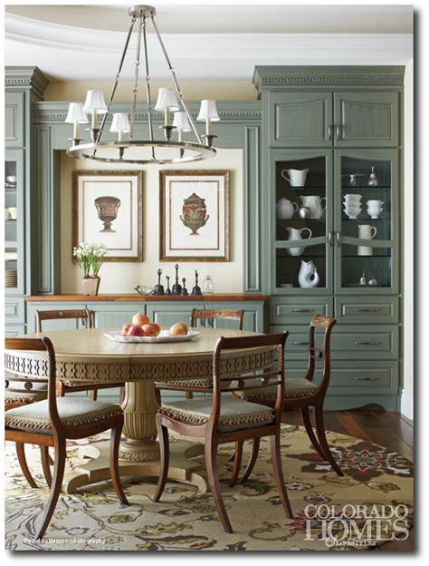 French Country Style In Colorado Home