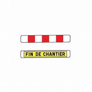 Fin De Chantier : panneau d but et fin de chantier k2 1400x200mm t1 ~ Mglfilm.com Idées de Décoration