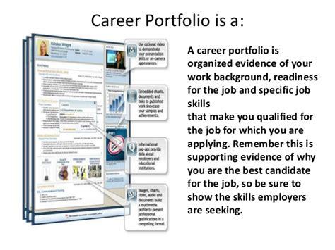 career portfolio management