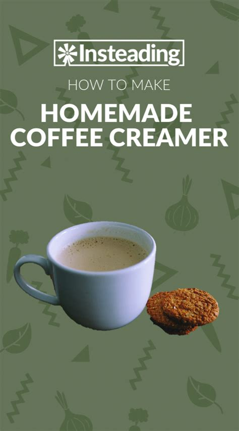 Make this homemade coffee creamer. Skip the store-bought creamer and make your own at home with our homemade coffee creamer reci ...