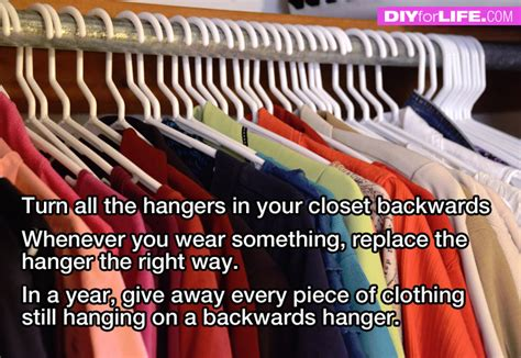 clean out closet with this tip diy for