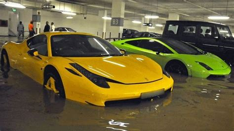 Millions Of Dollars Worth Of Supercars Destroyed In