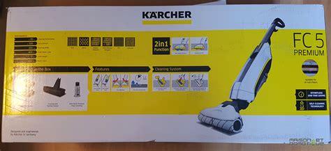 kärcher fc5 premium test karcher fc5 premium il m a r 233 concili 233 avec le lavage des sols maison et domotique