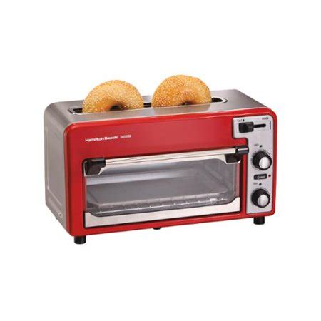 4 Slice Toaster And Toaster Oven Combo by Hamilton 22722 Toastation Toaster Oven W Wide 2