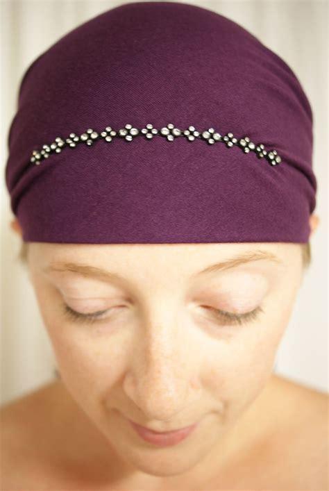 sparkle  head scarves delicate rhinestone  tie
