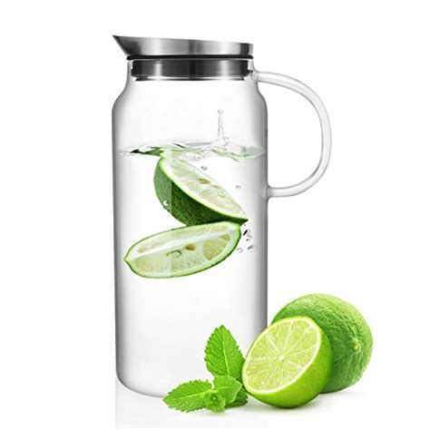 water filter pitcher made of glass best water pitcher with lid out of top 22
