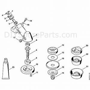 Stihl Fs 400 Clearing Saw  Fs400  Parts Diagram  K