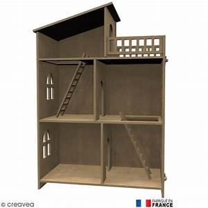 kit maison de poupee en bois a decorer meuble miniature With meuble miniature en bois