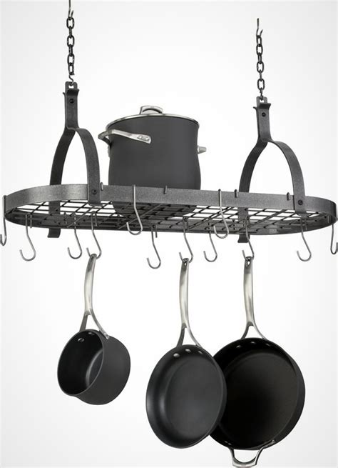 small pot rack 20 big ideas for small kitchens brit co