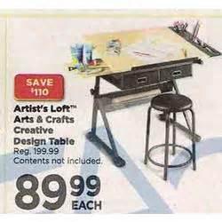 artist s loft arts crafts creative design table at
