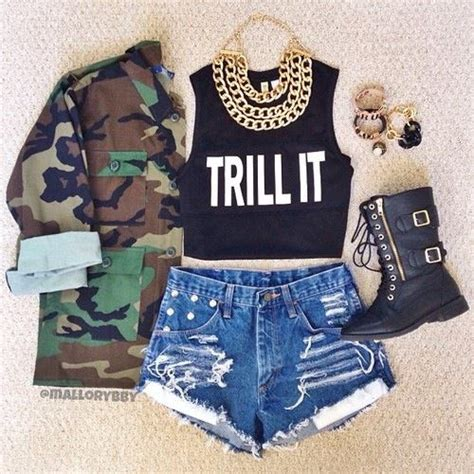 Teen Girls Swag Style- 20 Swag Outfits Every Girl Must Try
