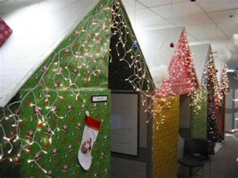 cubicle christmas decorations office decorating ideas get smart workspaces