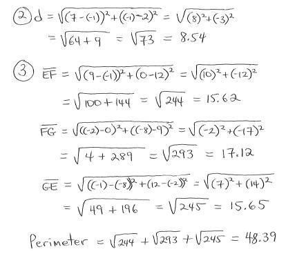 distance formula worksheet with answers free worksheets