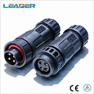 250v 15a M19 4 Wire Waterproof Cable Connector