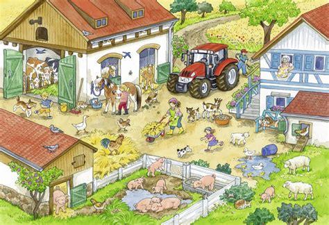 puzzles day   farm ravensburger   pieces