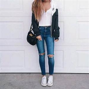 casual chic outfit | Tumblr