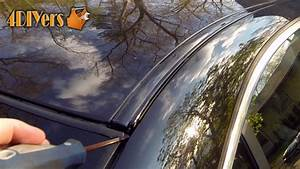 How To Remove 2010 Honda Element Exterior Molding Sunroof