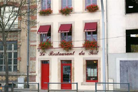 restaurant le restaurant du port dans nancy avec cuisine