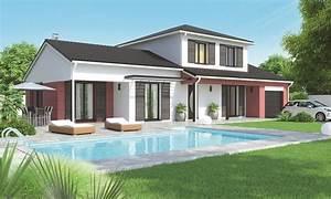 Construire Sa Maison Prix : prix maison a construire awesome ossature bois prix ~ Carolinahurricanesstore.com Idées de Décoration