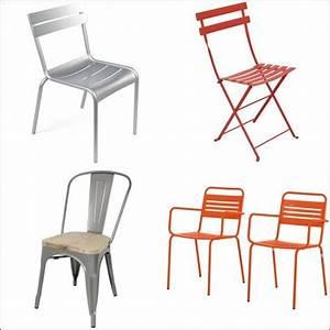 Chaise De Jardin Metal : chaise de jardin m tal trouvez les meilleurs prix avec ~ Dailycaller-alerts.com Idées de Décoration