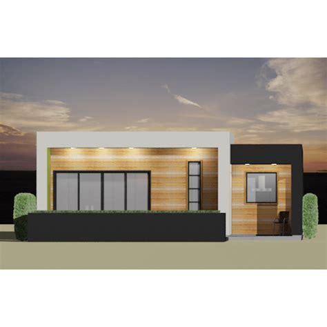 home courtyard modern 2 bedroom house plan