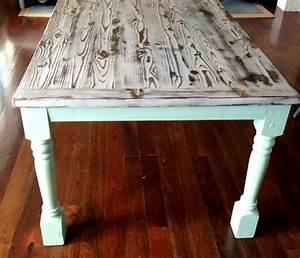My Modern-Beachy-Farmhouse Table