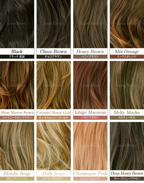 Brown Hair Colors Names by