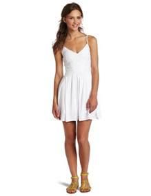 Short White Sundress