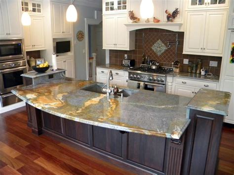 Blue Louise Granite Installed Design Photos And Reviews