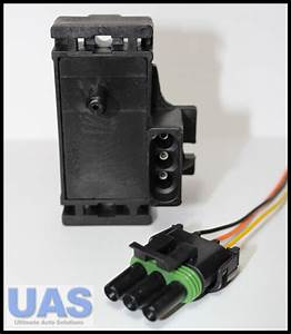 Gm 2bar Map Sensor Turbo Boost With Plug  U0026 Wires 12247571