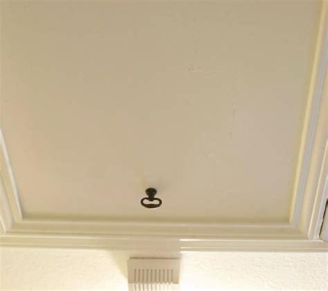 tip  attic doors    hanging cord