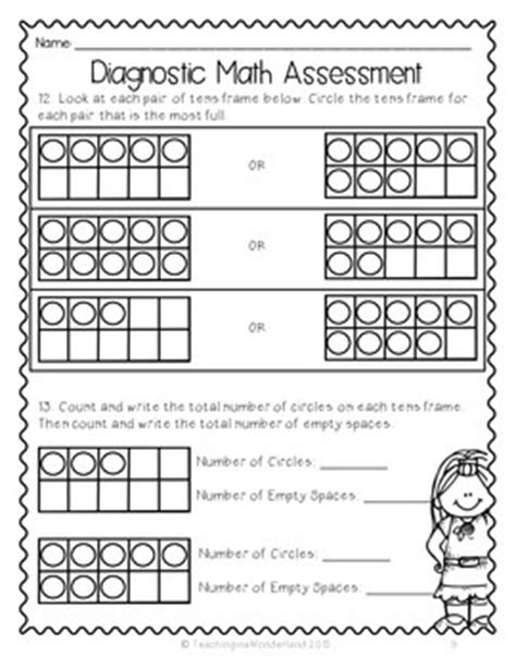 {grade 1} Ontariobased Diagnostic Math Assessment Test Tpt