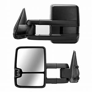 Dedc Tow Mirrors Fit For Chevy Silverado 1500 2500 3500