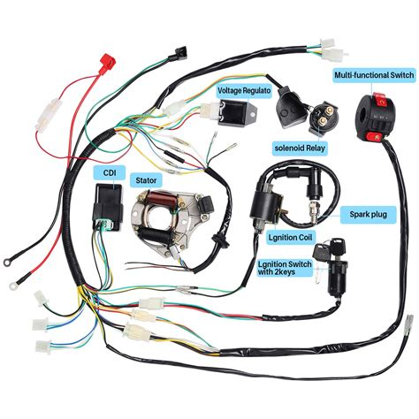 2 Stroke 5 Wire Cdi Wire Diagram by Cdi Stator Wiring Wiring Diagram On The Net