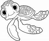 Draw Nemo Turtle Finding Squirt Easy Drawing Coloring Pages Disney Pixar Drawinghowtodraw Step sketch template