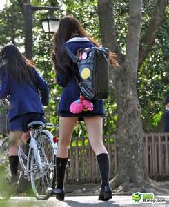 Mini Skirts Japanese School Girl Uniforms