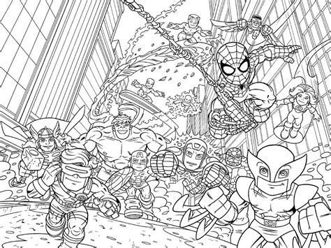 super hero coloring sheets for party maybe have toddler