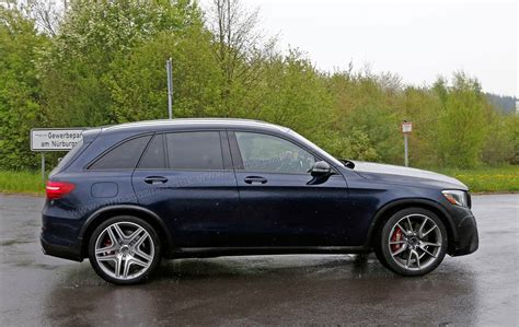 Mercedesamg Glc 63 Spied The Quick Crossover Is Coming